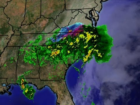 Late winter storm hits South, Mid-Atlantic States