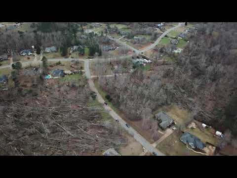 More Drone Footage of Tornado Damage