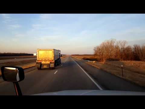 BigRigTravels LIVE! Salina to Colby, Kansas Interstate 70 West-Feb. 13, 2018