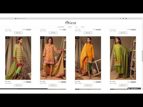 How to Shop at Orient's Website