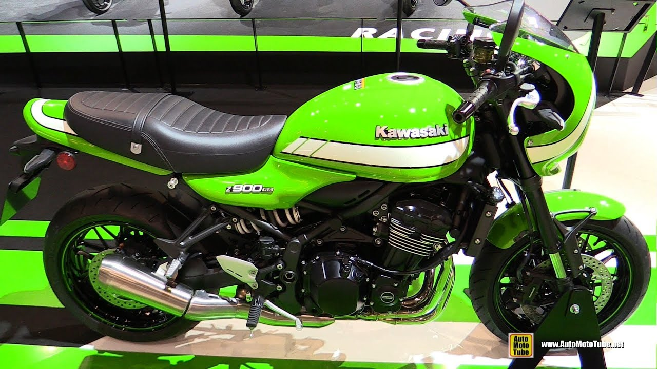 2018 kawasaki z900 rs cafe walkaround debut at 2017. Black Bedroom Furniture Sets. Home Design Ideas