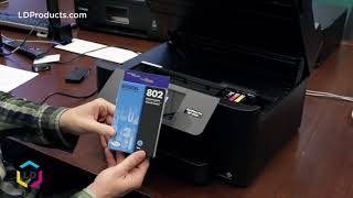 How to Replace Ink Cartridges in the Epson® WorkForce Pro WF-4720, 4730, 4734, 4740 Printers