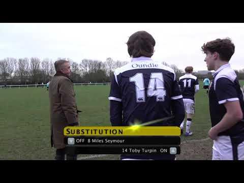 Oundle School 1st XI Vs Kings Ely 1st XI (Schoolboy Football)