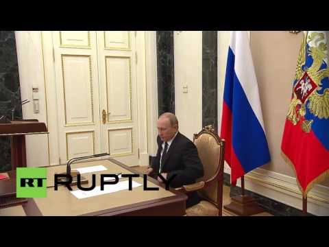Russia: Putin discusses Erdogan's upcoming visit to Russia with Security Council