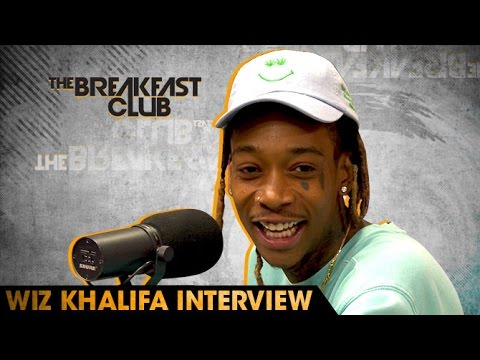Wiz Khalifa Interview With The Breakfast Club (6-24-16)