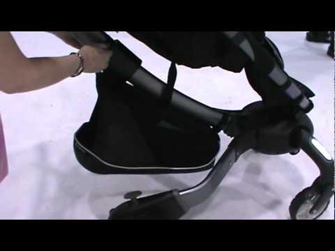 origami power folding stroller new 2012 sneak peek youtube