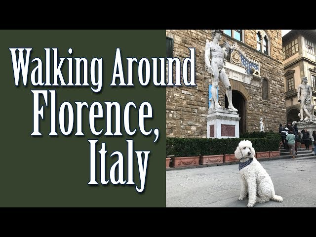 Walking Around Florence, Italy