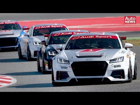 Audi TT Cup: Die zukünftigen Stars des Rennsports