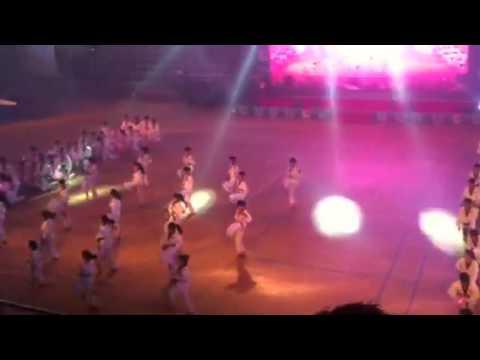 Biểu diễn Taekwondo khai mạc Đại hội TDTT Vũng Tàu 2014