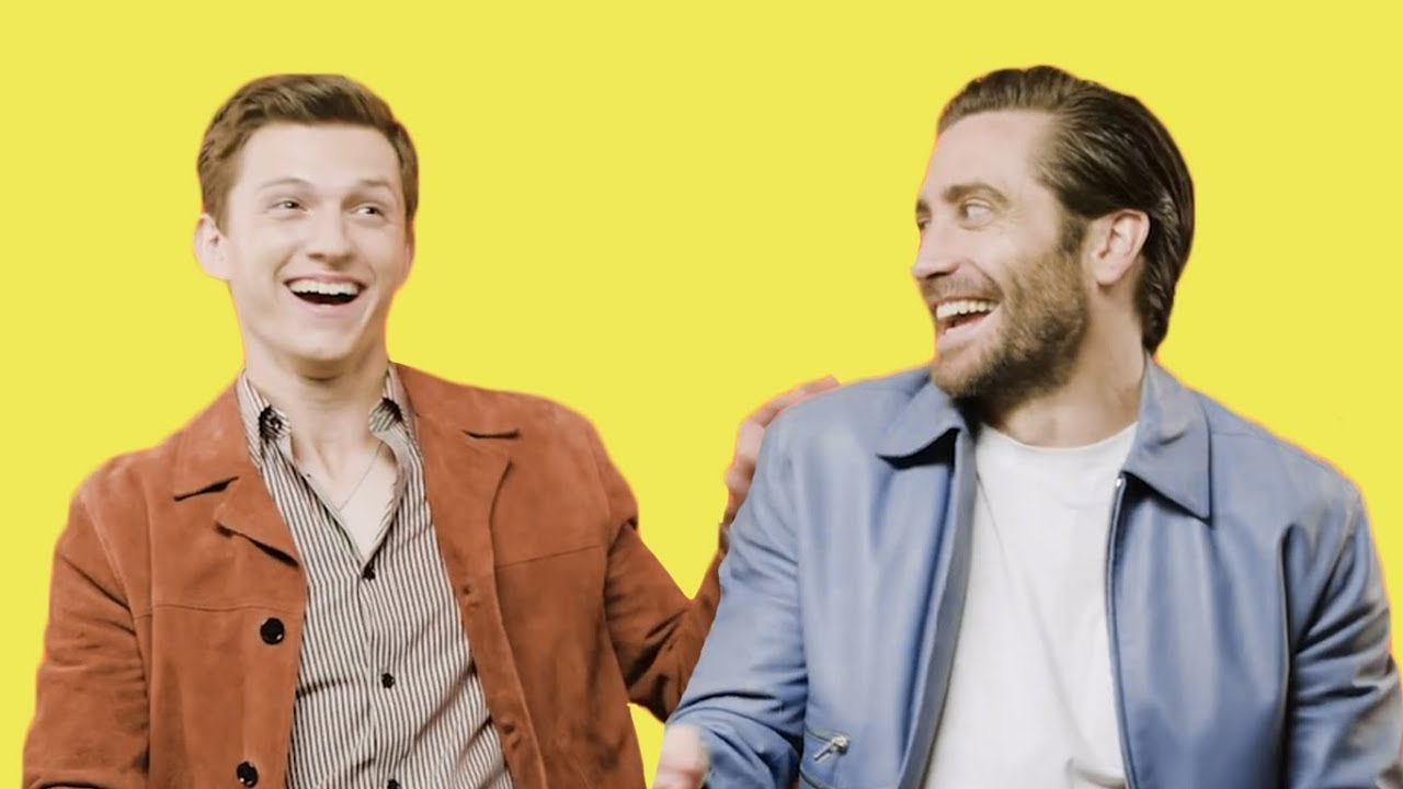 Tom Holland gets beaten by Jake Gyllenhaal in hilarious impossible ...