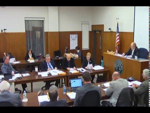 December 1, 2015 - Legislature Meeting