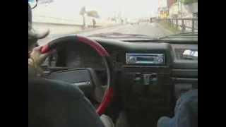 Уроки вождения для автоледи.  Урок 12