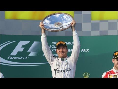 F1 Melbourne Australian Grand Prix | Nico Rosberg Beats Lewis Hamilton