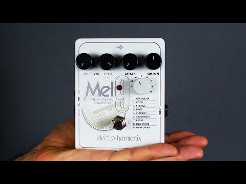 Ambient Guitar Gear Review - Electro-Harmonix Mel9 Tape Replay Machine (EHX, Mellotron)