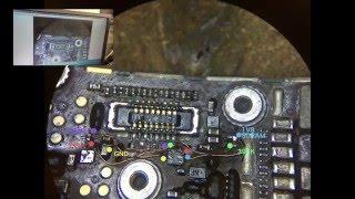 iPhone 6, не работает Home, внедрение логического переключателя(Рабочий солюшен для восстановления работоспособности кнопок Программа ZXW в которой работаю http://ali.pub/1tbqg..., 2016-02-28T16:27:53.000Z)