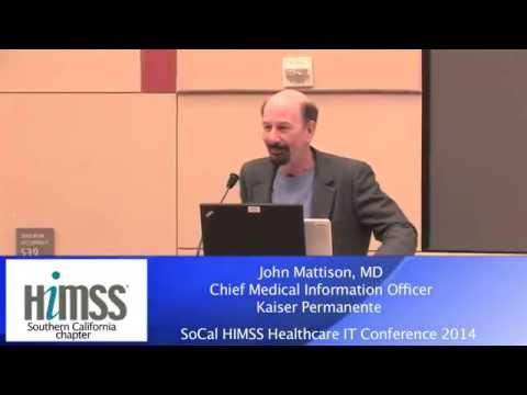 2014 Healthcare IT Conference - John Mattison, MD - YouTube