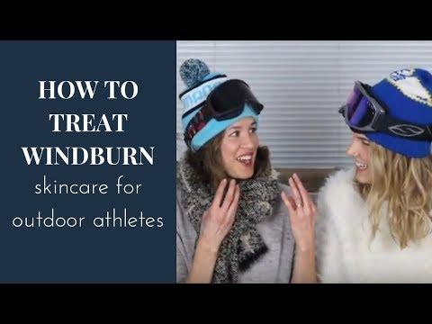 Wind Burn Skincare Tips (Winter sports skin care, natural, organic)