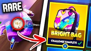 "*SECRET* ITEM UNLOCKED in FORTNITE! - How To Unlock NEW ""Brite Bag"" RARE (Fortnite Battle Royale)"