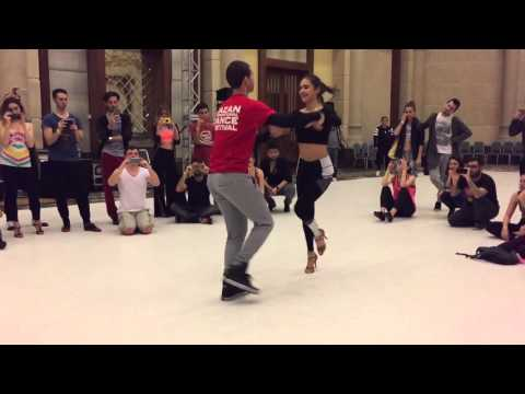 ⭐ Melisa Sahra Katilmis and Cem Demir ⭐ Salsa Dance Lesson Partnerwork