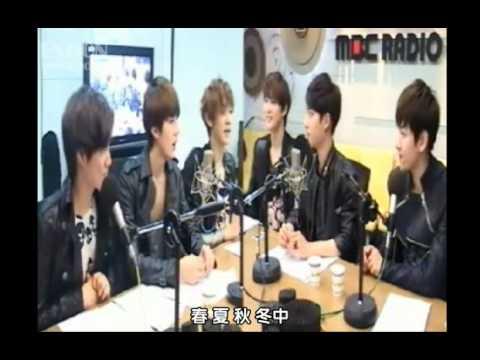 【EXOCN原創字幕】120514 MBC Younha的星光閃耀的夜晚EXO-K (中字)