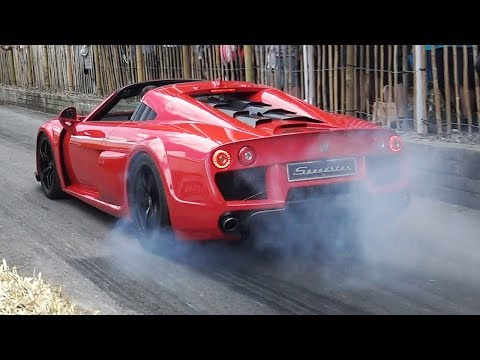 Noble M600 Speedster w/ LOUD Backfires Tune – Yamaha 4.4 Twin-Turbo V8 Sound!