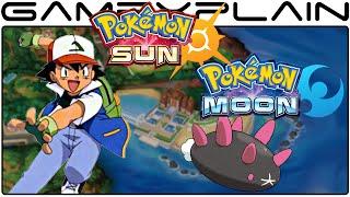 Pokémon Sun & Moon - A Closer Look at Pyukumuku Chucking
