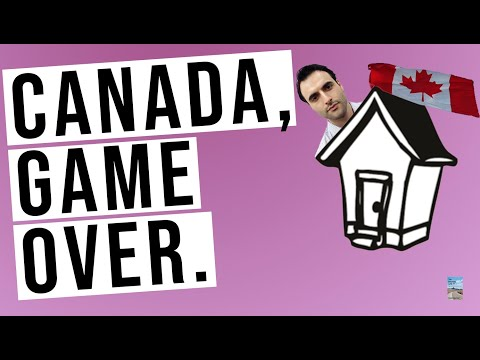Canada On The Brink Of A Real Estate Collapse. Debt, Default, And The Domino Effect.