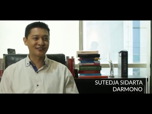Testimoni Para Tokoh Properti tentang Golden Property Awards Bapak Sutedja Sidarta Darmono.