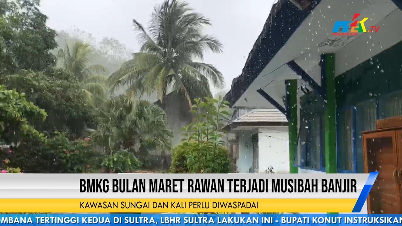BMKG Bulan Maret Rawan Terjadi Musibah Banjir