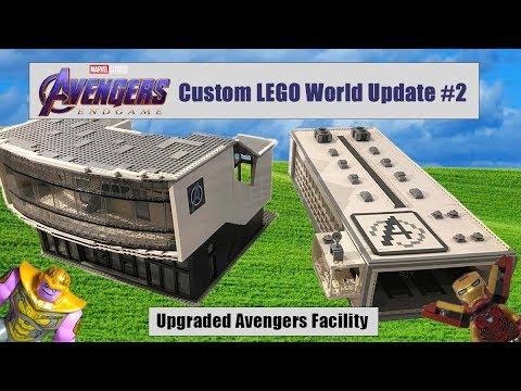 Avengers: Endgame Custom LEGO World Update #2