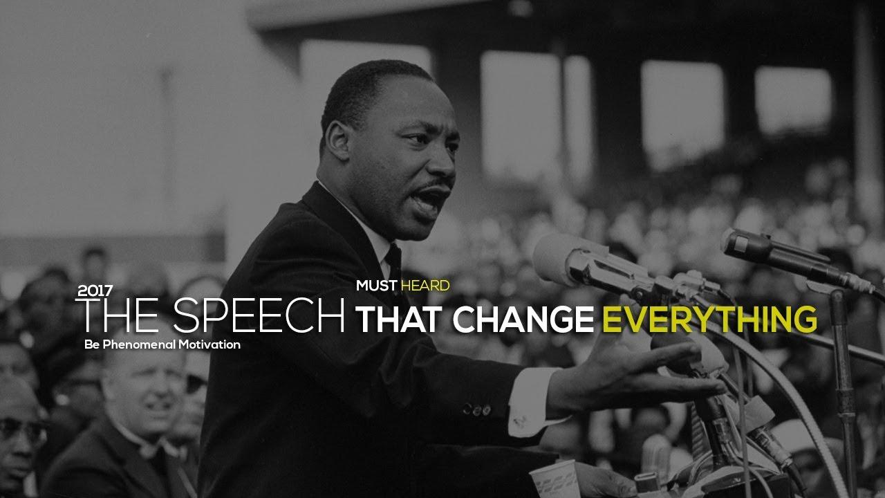 Martin Luther King - Inspirational Speech {Be Phenomenal Motivation}