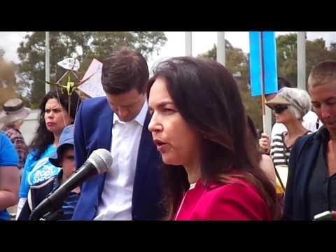 Kids Off Nauru Rally, Canberra 2018.Senator Lisa Singh's speech.