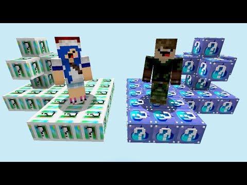 ilha-da-Água-vs-ilha-dos-deuses-l-ilha-lucky-block-(minecraft)