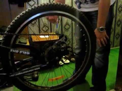 Установка и демонстрация работы неоновой подсветки колёс