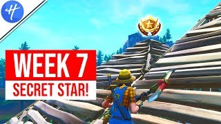 FORTNITE WEEK 7 SECRET BATTLE STAR LOCATION! (Season 8 Week 7 loading screen)