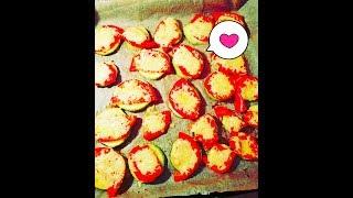 Кабачок в духовке, кабачок рецепт , кабачки запеченные с помидором под сыром , быстро и просто
