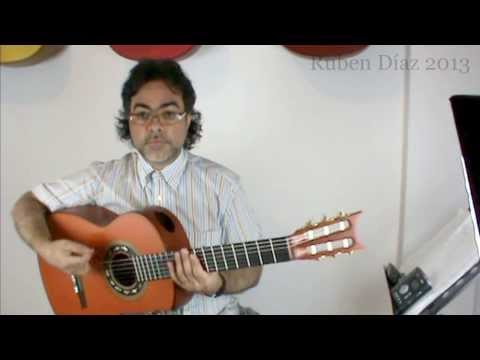 Fitness in Flamenco 3 (Rhythm) / Ruben Diaz CFG Malaga / Andalusian Flamenco Guitar Lesson