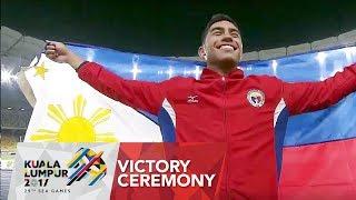 Athletics: Men's 200m Victory Ceremony | 29th SEA Games 2017