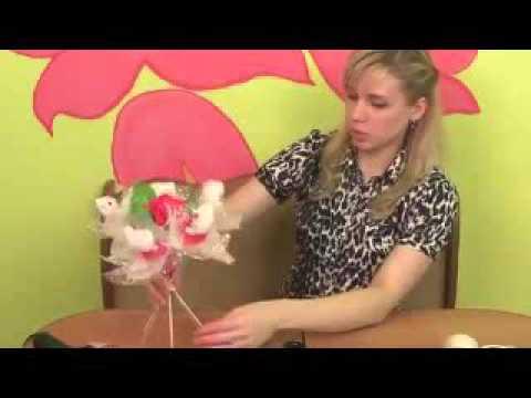 Мастер-класс по изготовлению букета из игрушек смотреть онлайн