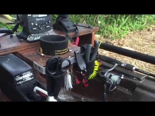 Wilderness Systems Ride 115X Fishing Modification