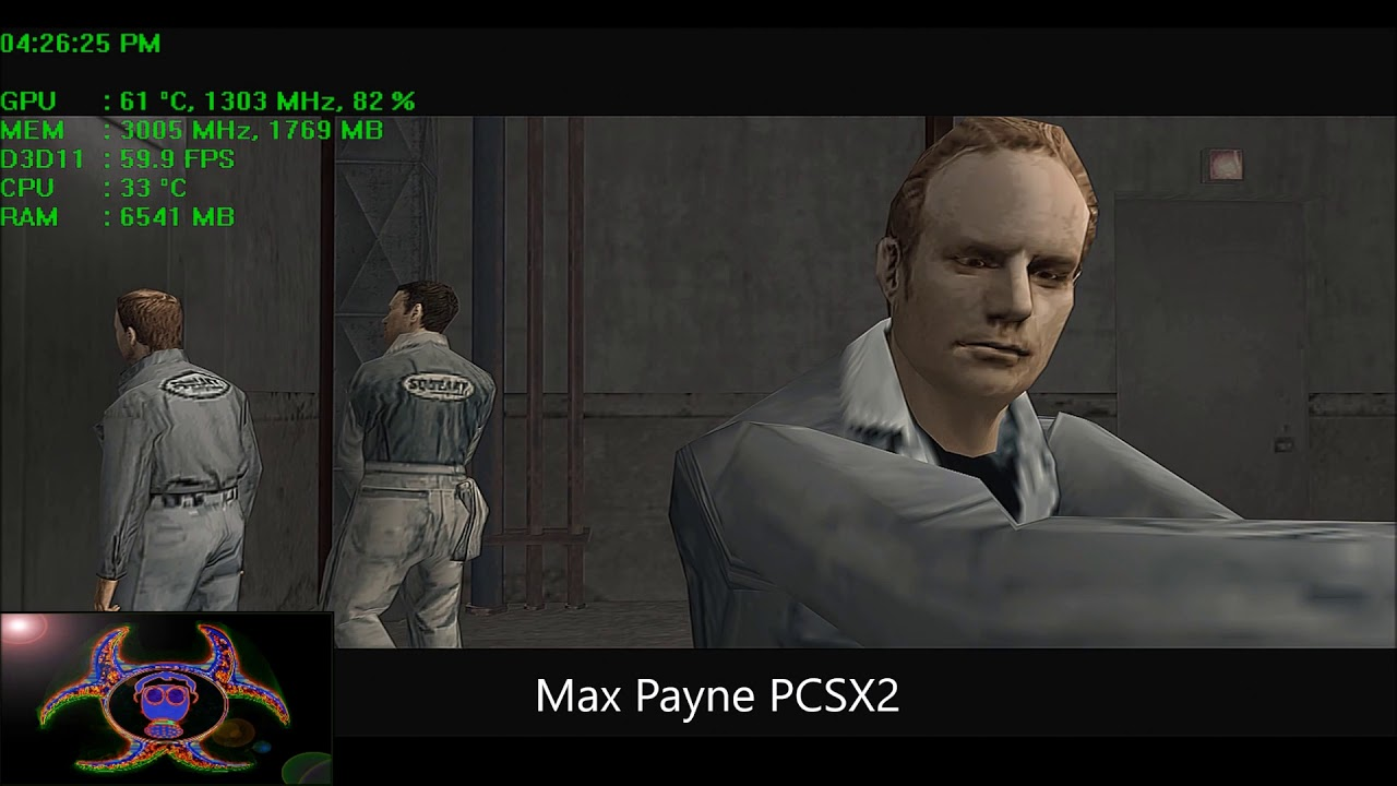 Max Payne 2 Pcsx2 Ps2 Youtube