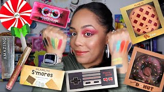 Testing NEW Products   Glamlite Cosmetics   Amazing Cosmetics   Gamer Glam   Peachy Queen & MORE