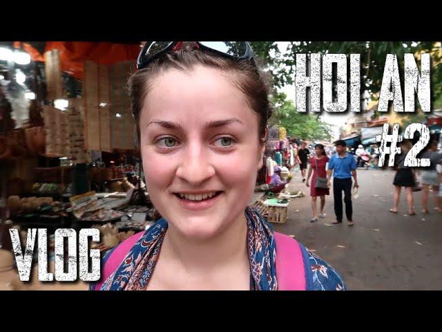 Dans le MARCHÉ COUVERT ! - Vlog HOI AN #2 (en direct du Vietnam)