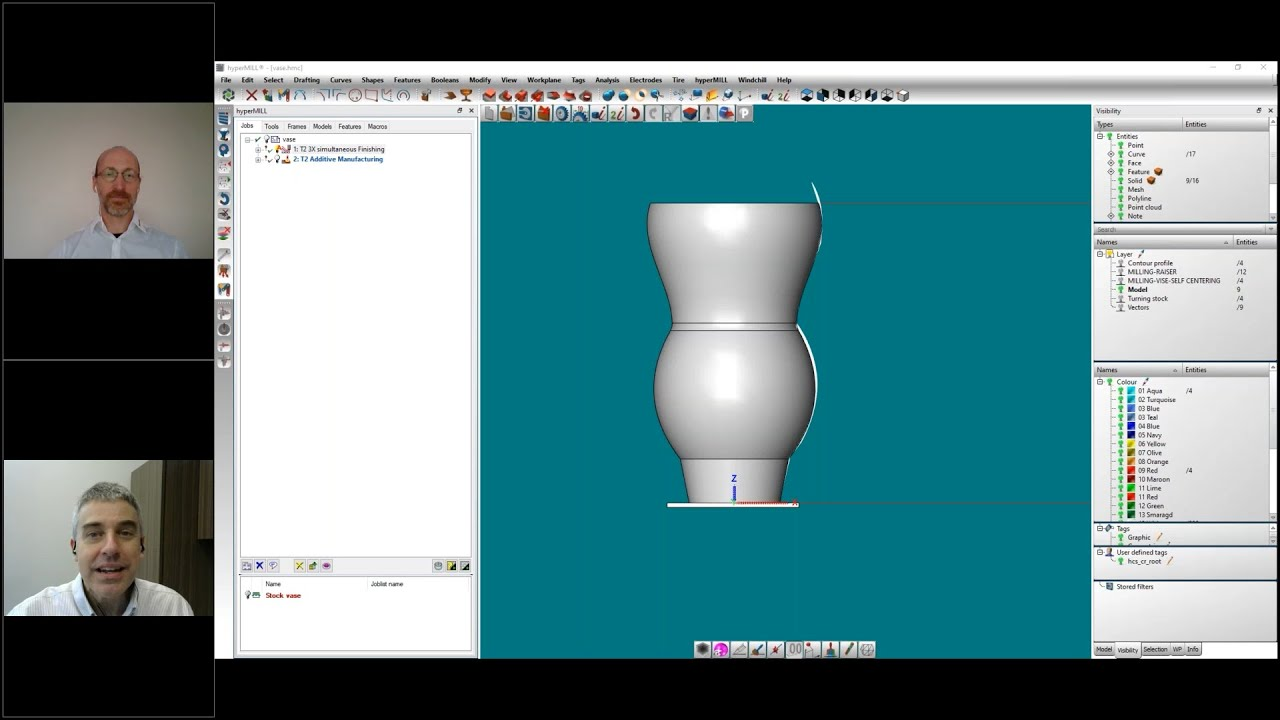 Video: Programming for Additive Turning of Cylindrical Parts