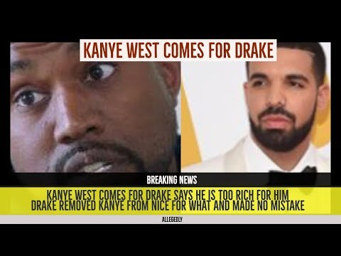 Kanye West GOES AT Drake on 'Ye' Album, Drake Allegedly took Kanye off 'Nice for What NO MISTAKES'