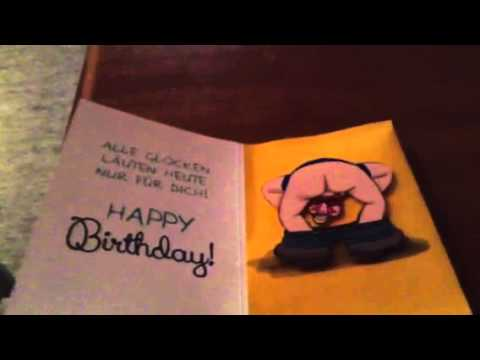 Witzige Geburtstagskarte Youtube