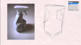 Ctrl+Paint — Традиционная графика. Создание контурного рисунка. Урок 6.2