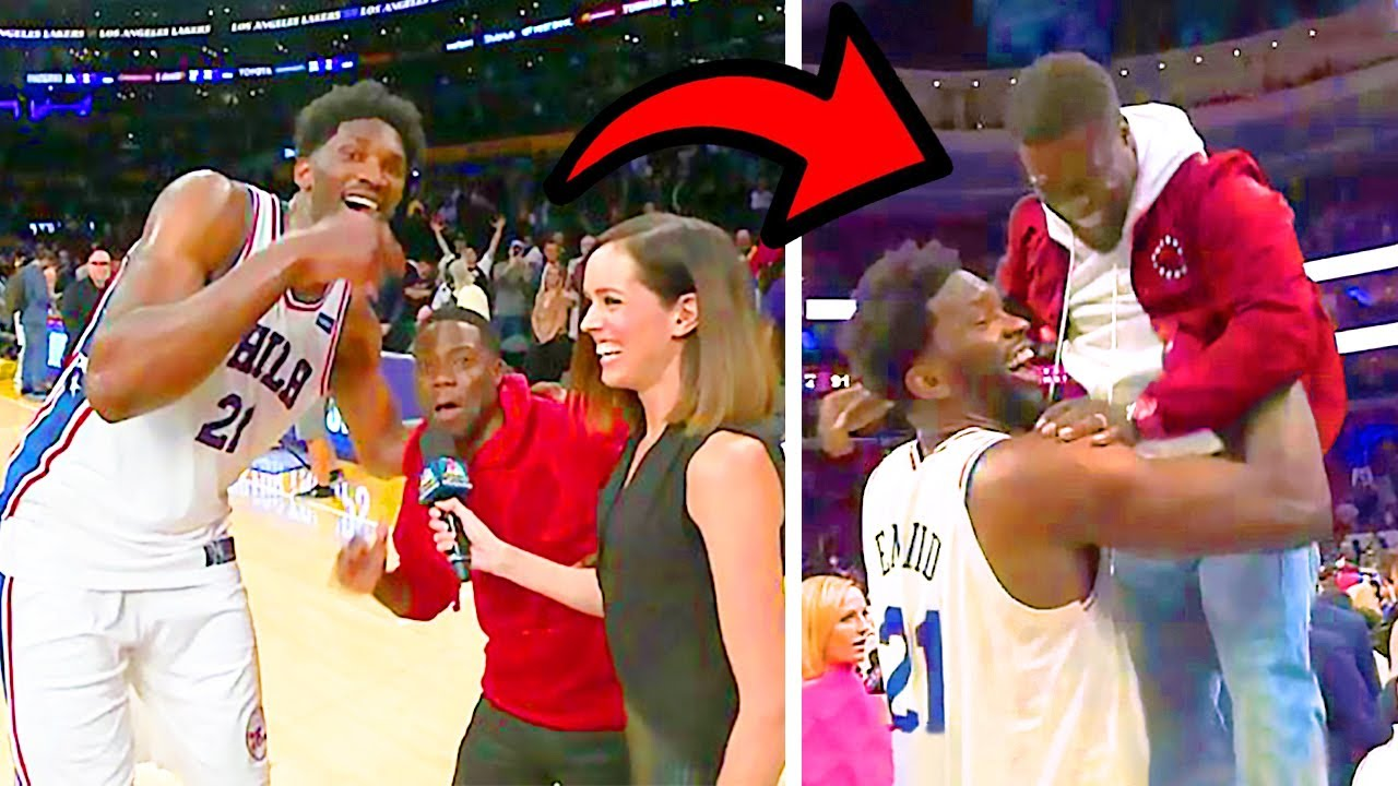 Kevin Hart Trolling NBA Players On Live TV!