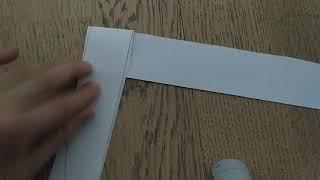 Як зробити чудову іграшку з паперу А-4?