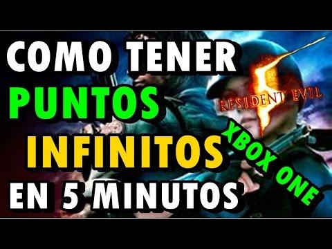 RESIDEN EVIL 5 - TRUCO PUNTOS INFINITOS! -XBOX ONE - (REMASTERISADO)